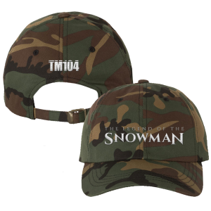 TLOTS Camo Dad Hat, Snowman Enamel Pin & TM104 Digital Download
