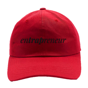 Entrapreneur Dad Hat [Red]
