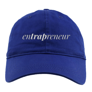 Entrapreneur Dad Hat [Blue]