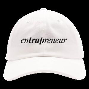 Entrapreneur Dad Hat [White]