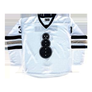 Snowman Hockey Jersey [White]