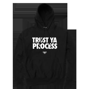 Trust Ya Process Hoodie [Black]