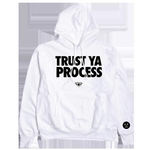 Trust Ya Process Hoodie [White]