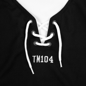 TM104 Hockey Jersey (Black)