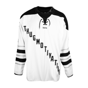 Thug Motivation Hockey Jersey [Black] & TM104 Digital Download