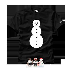 Snowman Tee + All Three Minifigures