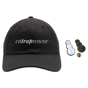enTRAPreneur Hat, Snowman Pin & TM104 Digital Download