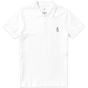 Snowman Polo [White]