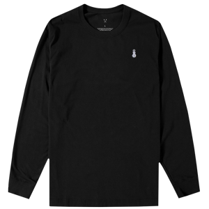 Snowman Long Sleeve Tee [Black]