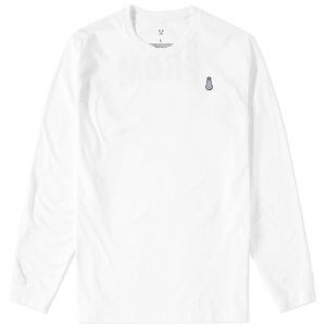 Snowman Long Sleeve Tee [White]