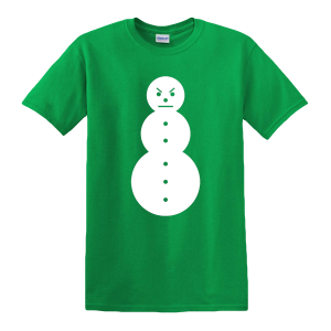 Snowman Tee [Green/White] & TM104 Digital Download