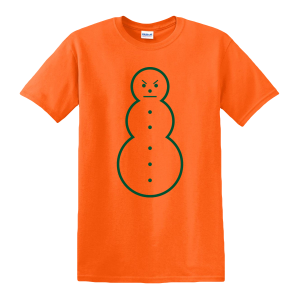 Snowman Tee [Orange/Green] & TM104 Digital Download