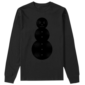 Snowman Long Sleeve Tee [Black/Black] & TM104 Digital Download
