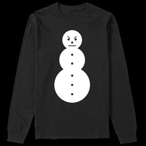 Snowman Long Sleeve Tee [White/Black] & TM104 Digital Download