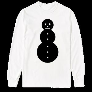 Snowman Long Sleeve Tee [Black/White] & TM104 Digital Download
