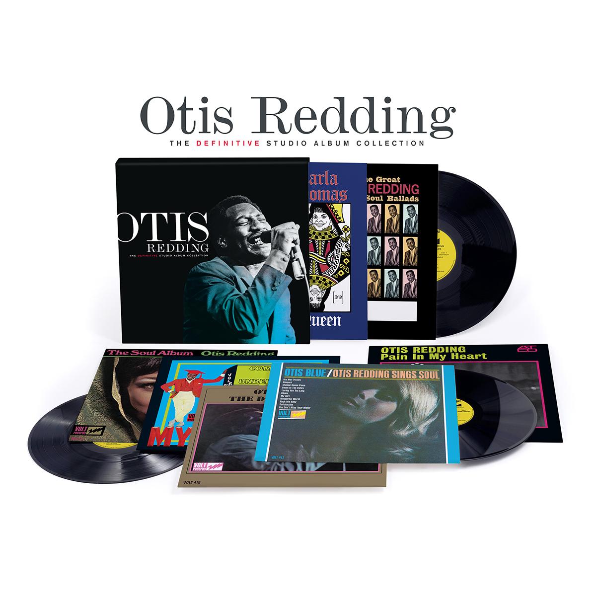 Otis Redding The Definitive Studio Album Collection - 140g Vinyl