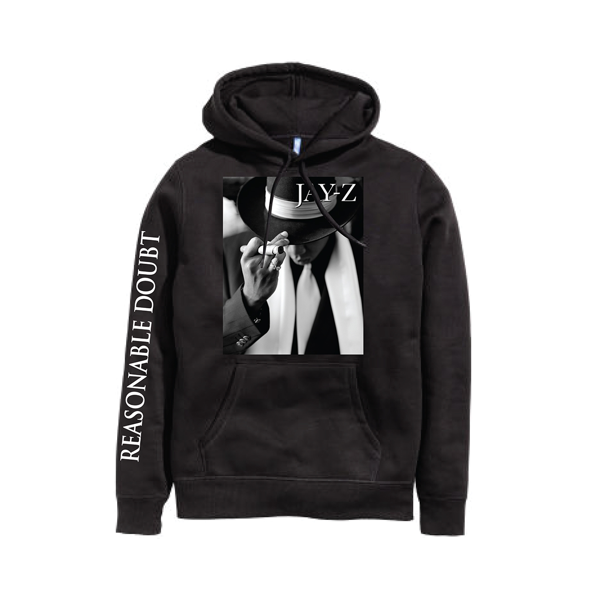Reasonable Doubt Cover Hoodie