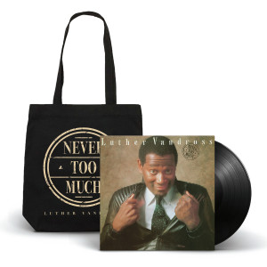 Never Too Much Tote Bag + LP