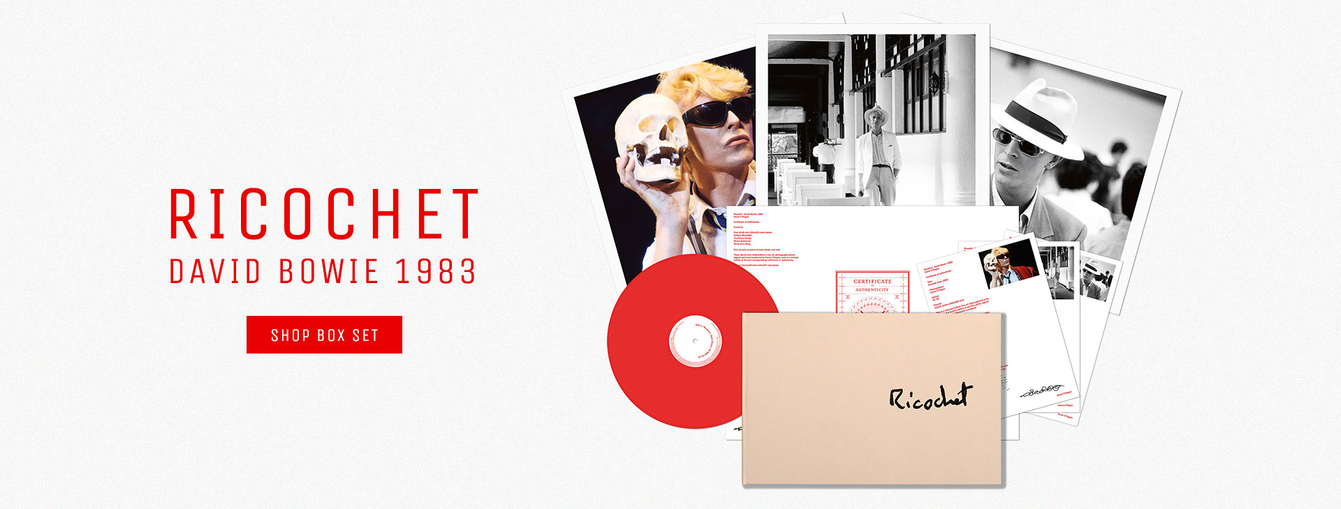 Ricochet: David Bowie 1983 Box Set