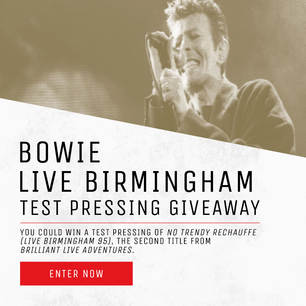 Live Birmingham Test Pressing Giveaway
