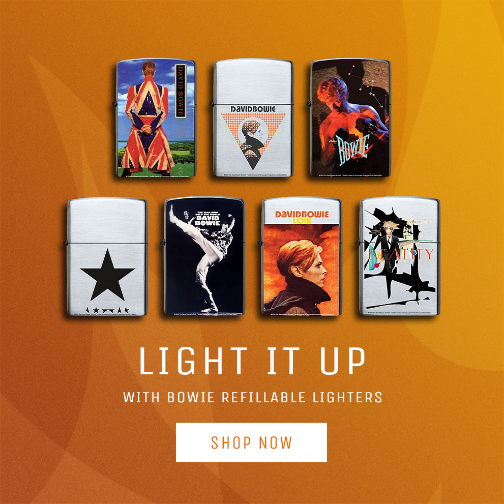 Bowie Lighters