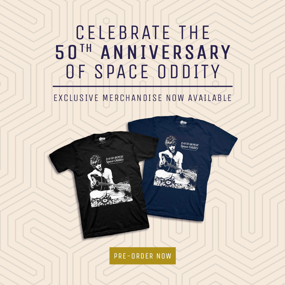 SPACE ODDITY - 50TH ANNIVERSARY 2 APPAREL