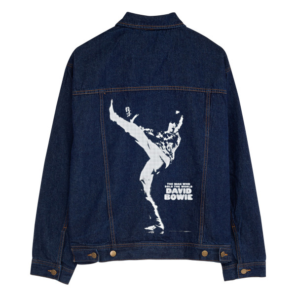 0ed51702d The Man Who Sold The World Personalized Jean Jacket | Shop the David Bowie Official  Store