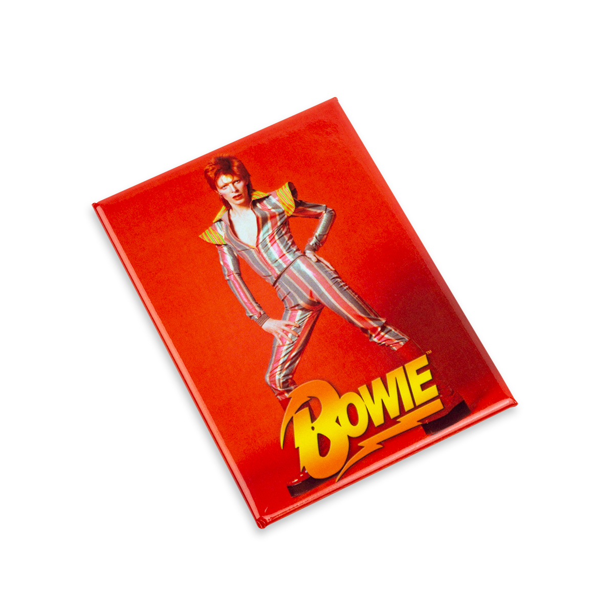 David Bowie Red Pose Magnet