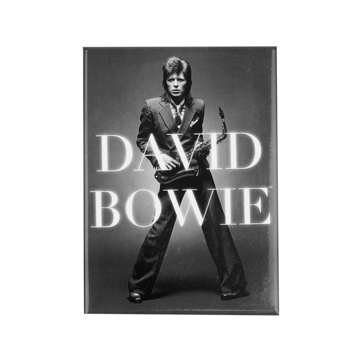 David Bowie BW Logo Magnet
