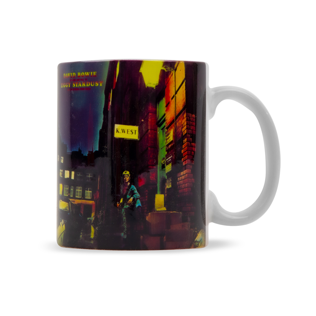 Ziggy Stardust Album Cover Mug