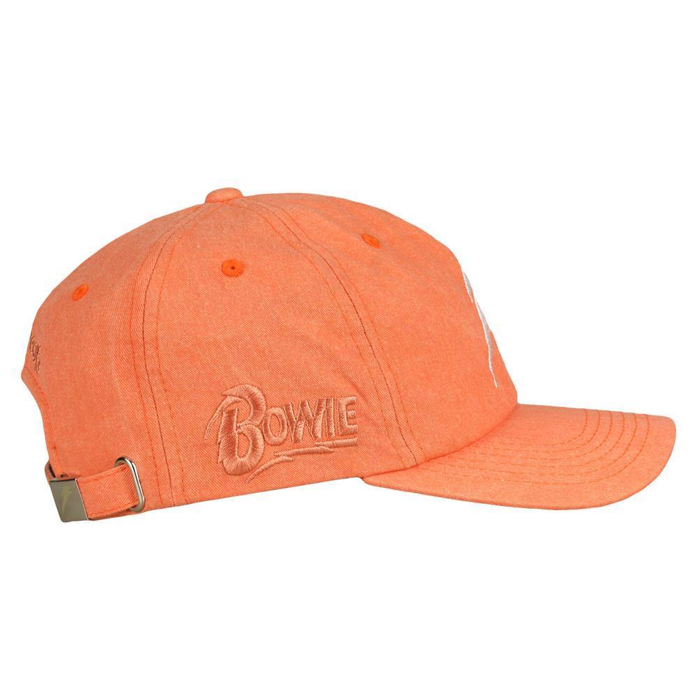 David Bowie Bolt Tangerine Dad Hat