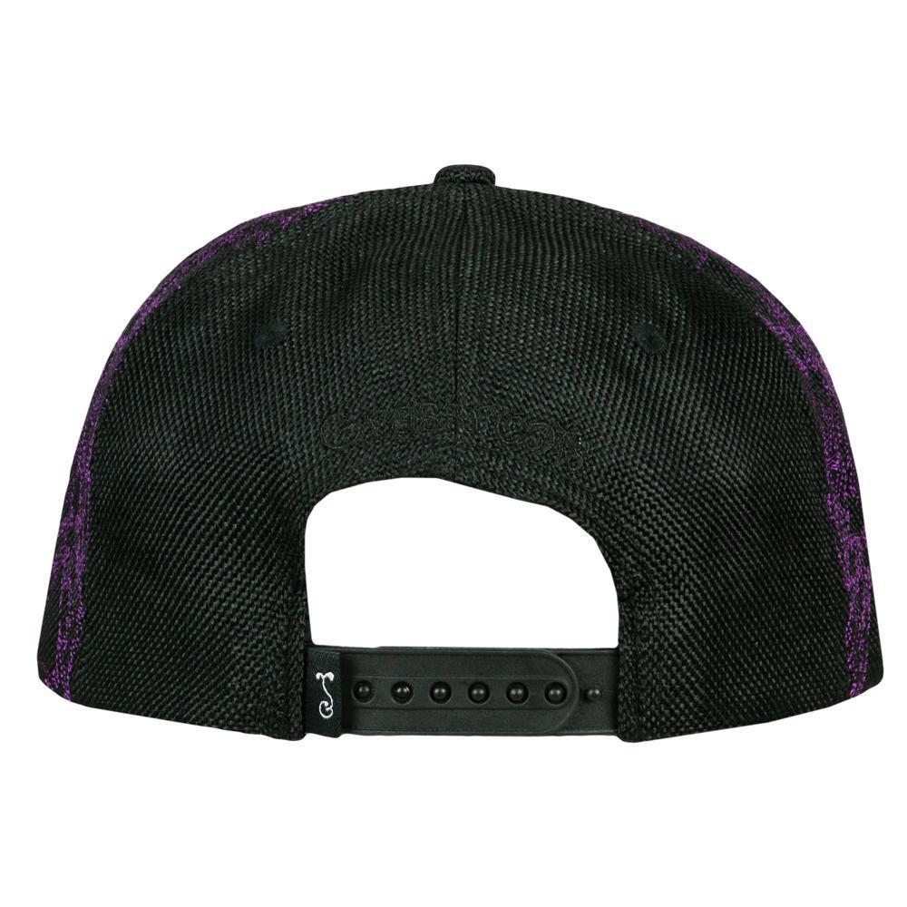 David Bowie Purple Galaxy Snapback Hat