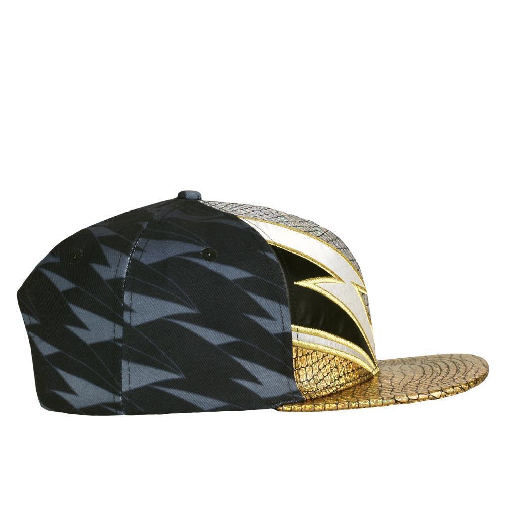 David Bowie Rhinestone Black Snapback Hat