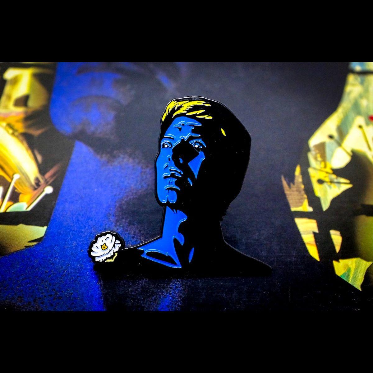 David Bowie Tonight Enamel Pin