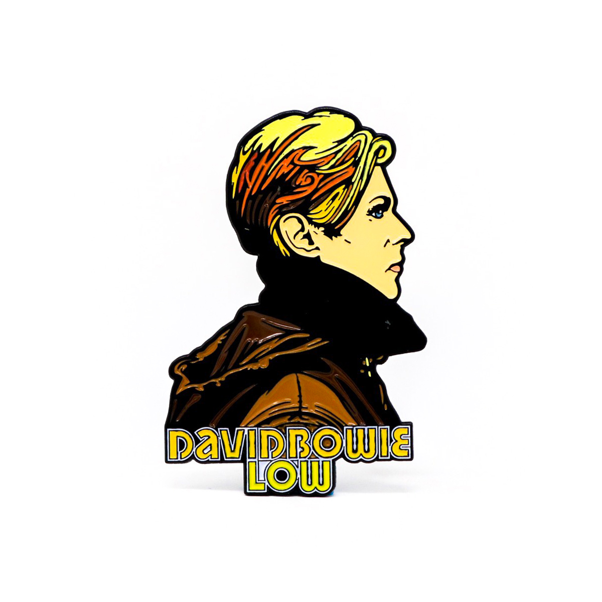 David Bowie Low Enamel Pin