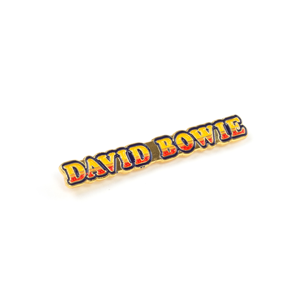 David Bowie Ziggy Stardust Logo Pin