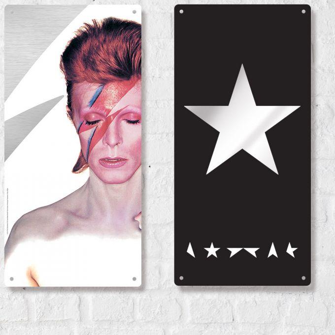 David Bowie Large Plate Print - Blackstar