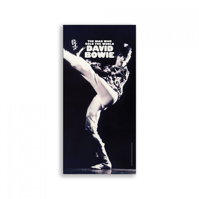 David Bowie Large Plate Print - Man Who Sold The World