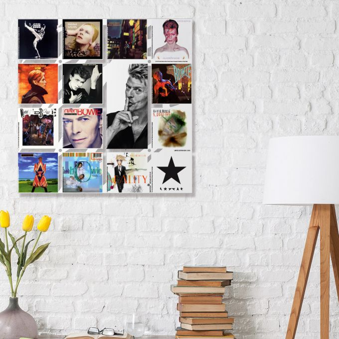 David Bowie Albums Wall Art