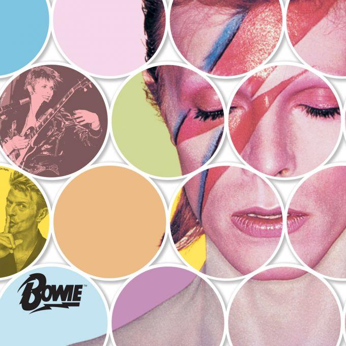 David Bowie Print - Discs