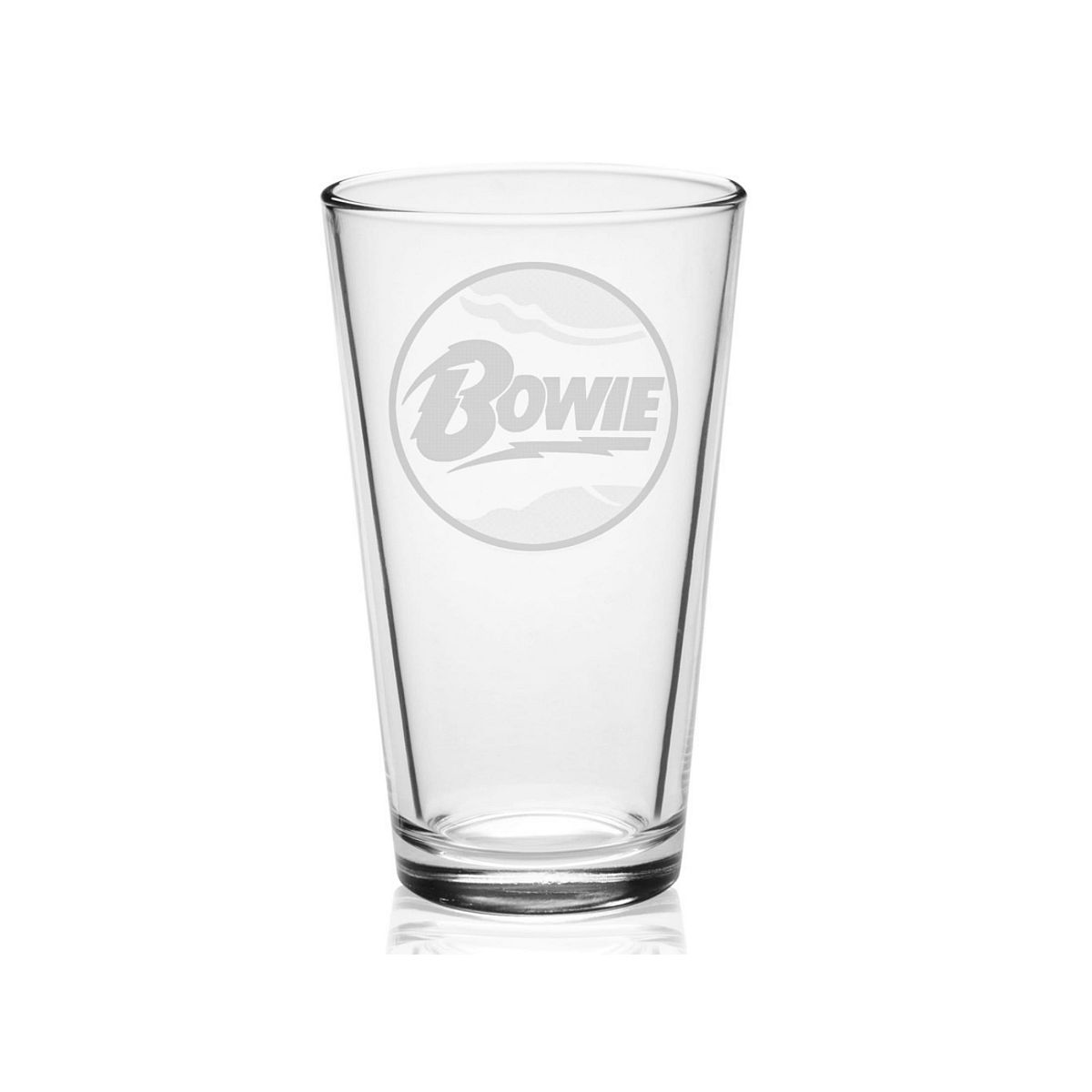 Classic Etched Pint Glass