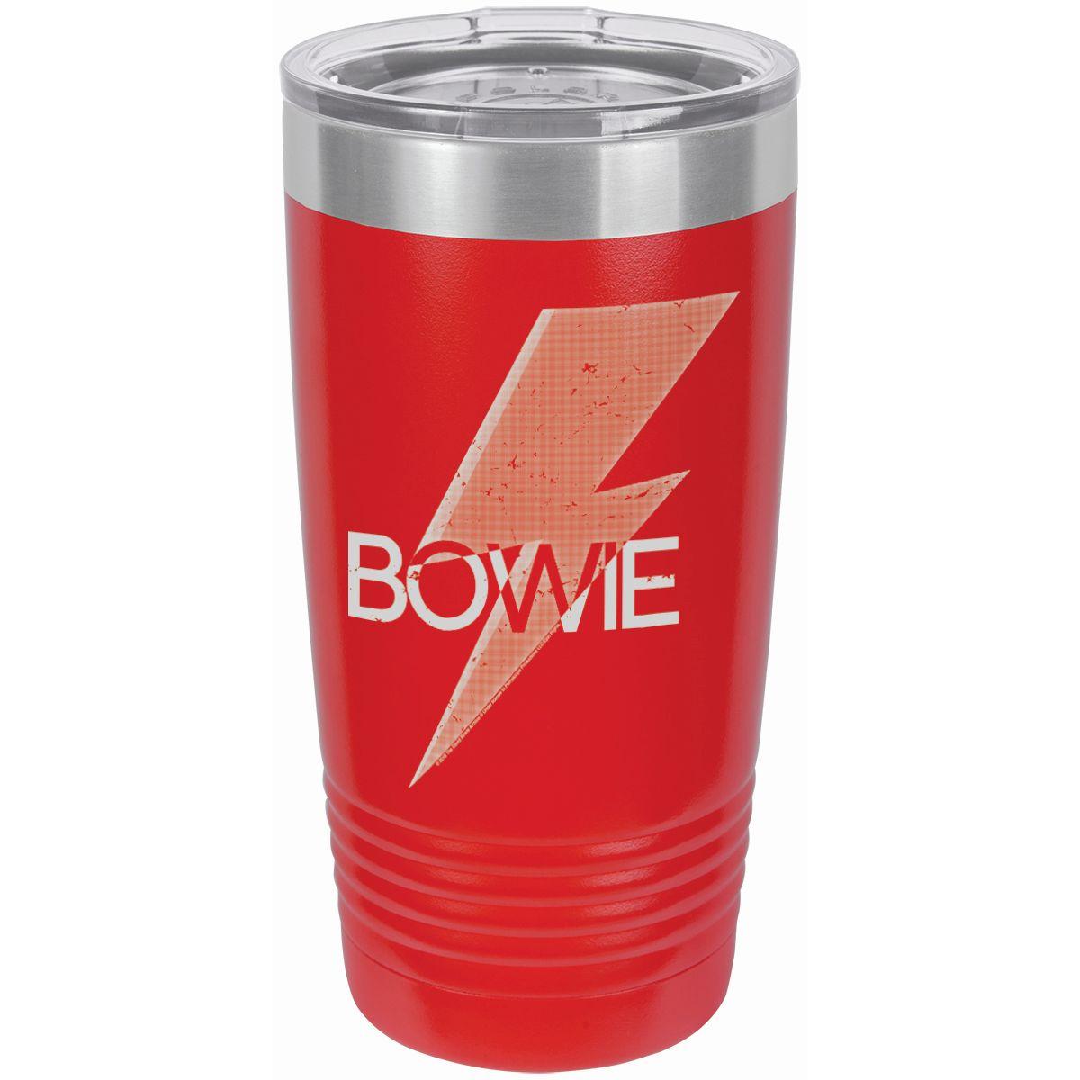 Bowie Bold Logo Laser Etched Polar Camel Travel Mug