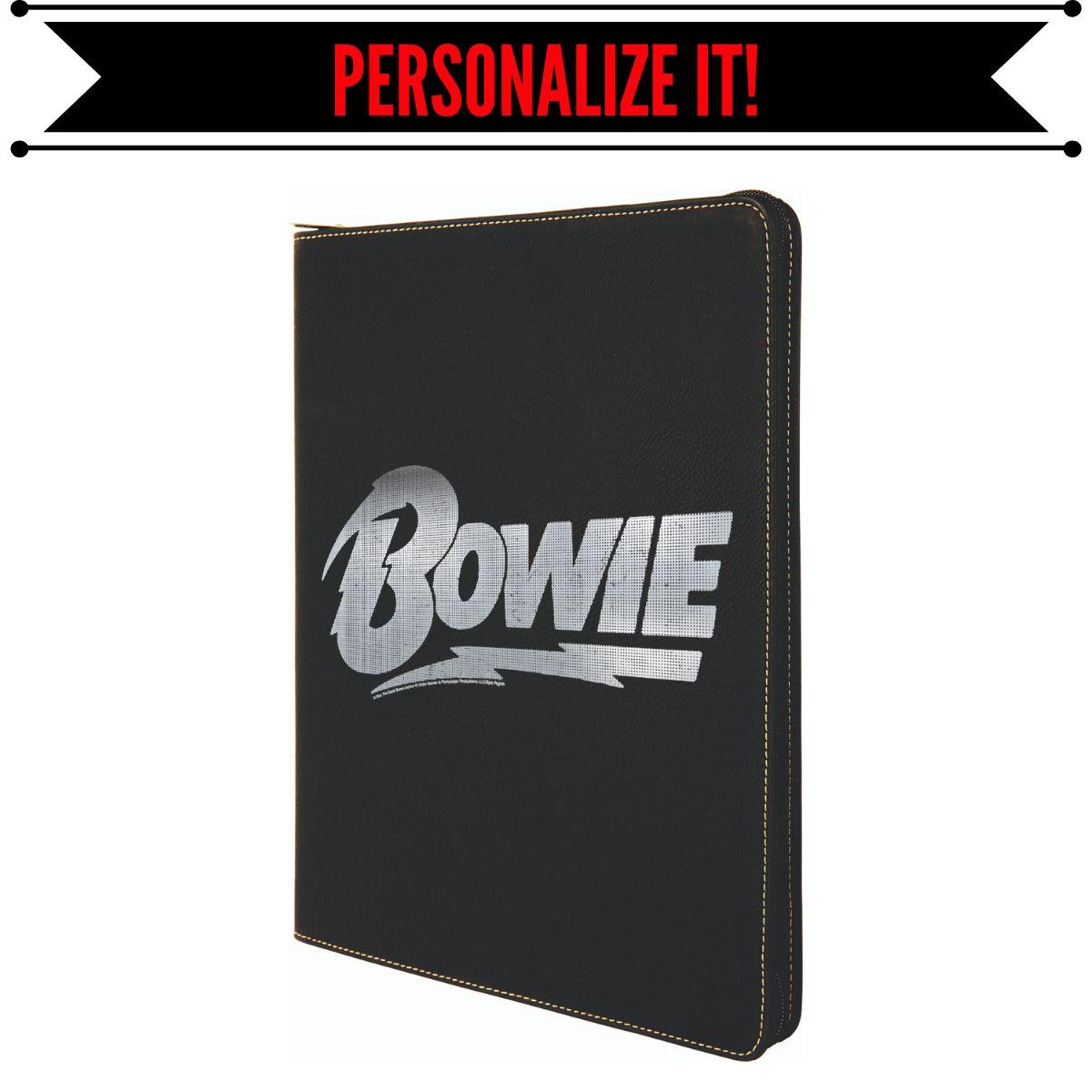 Bowie Logo Laser Engraved Portfolio
