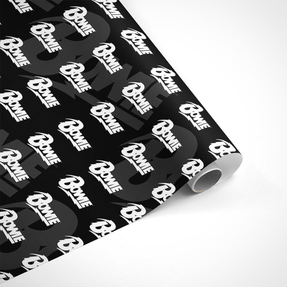David Bowie Name Wrapping Paper