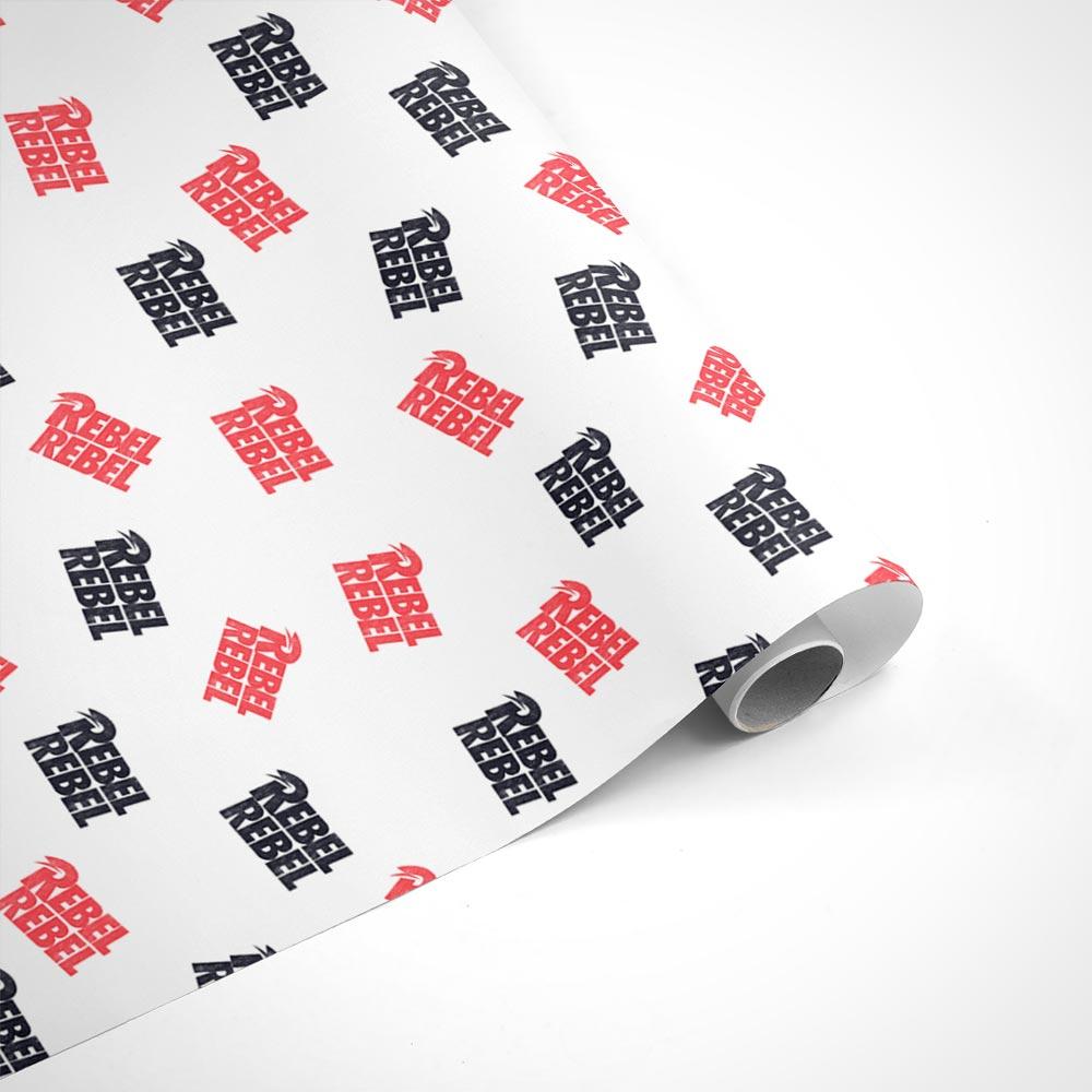 David Bowie Rebel Rebel Wrapping Paper