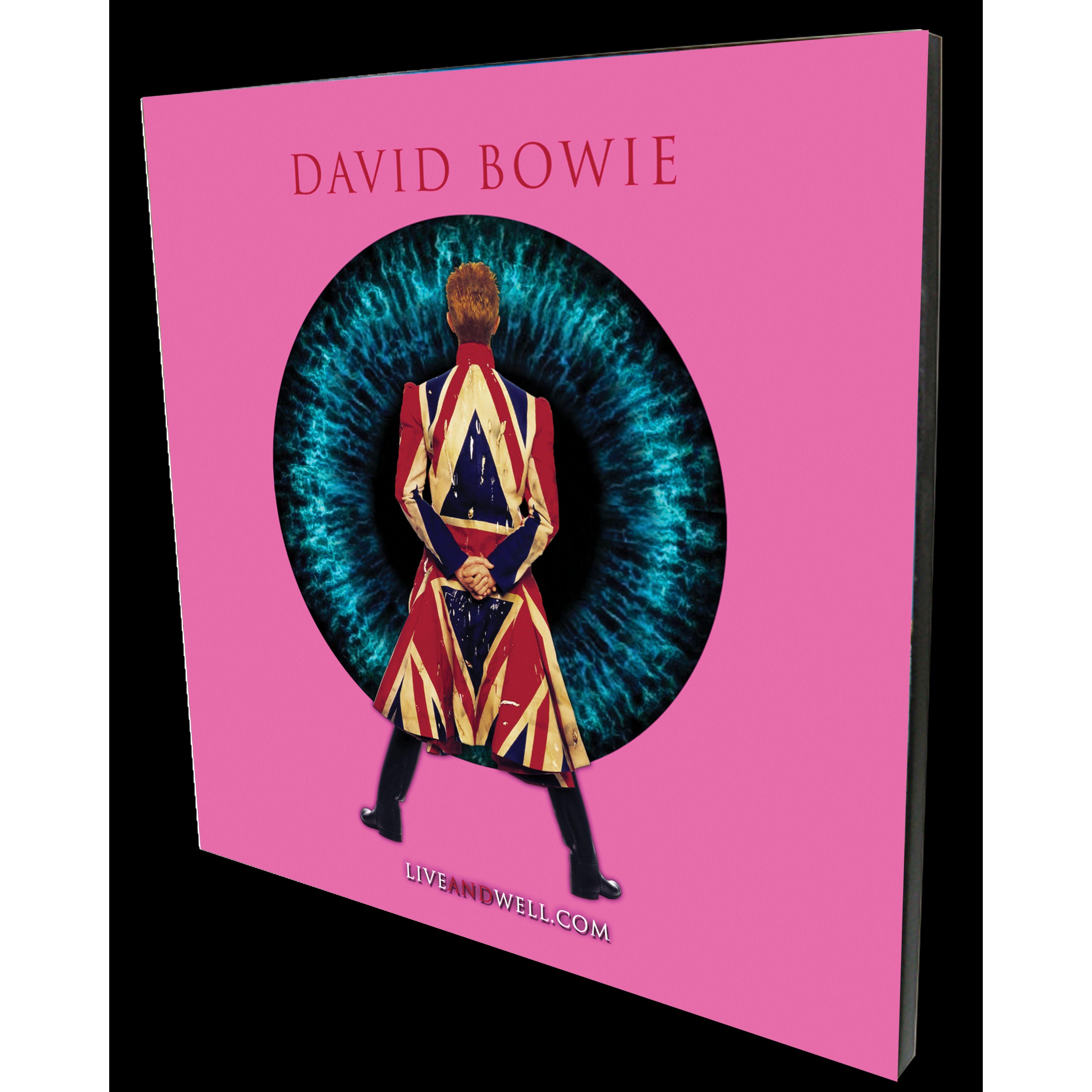 "LIVEANDWELL.COM 11"" x 14"" Pink Wood Panel Print"