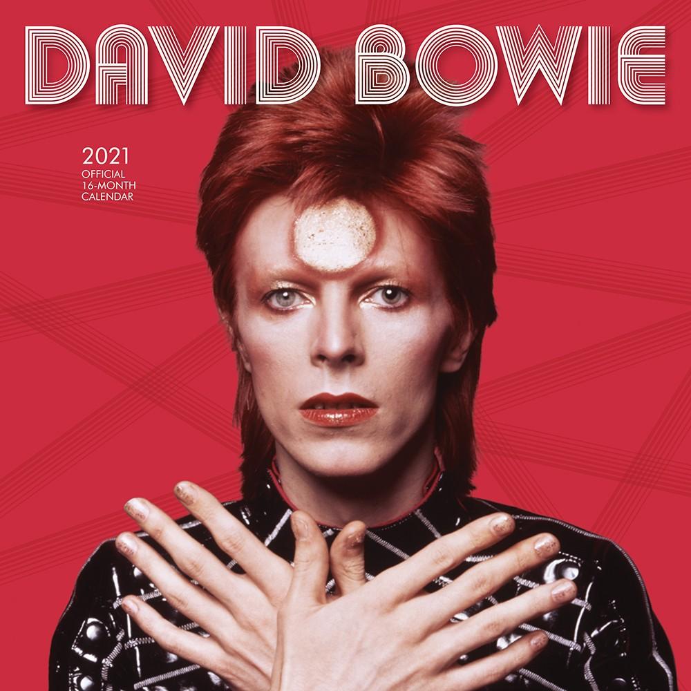 David Bowie 2021 Wall Calendar
