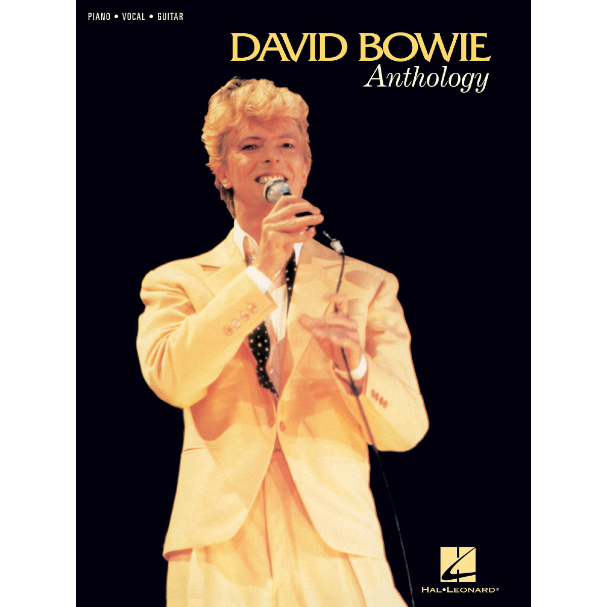 David Bowie Anthology  - Piano/Vocal/Guitar Artist Songbook