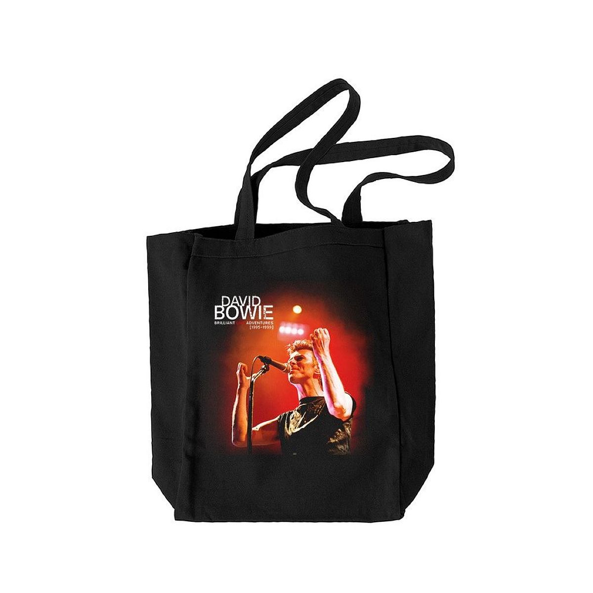 David Bowie Brilliant Live Adventures Tote Bag