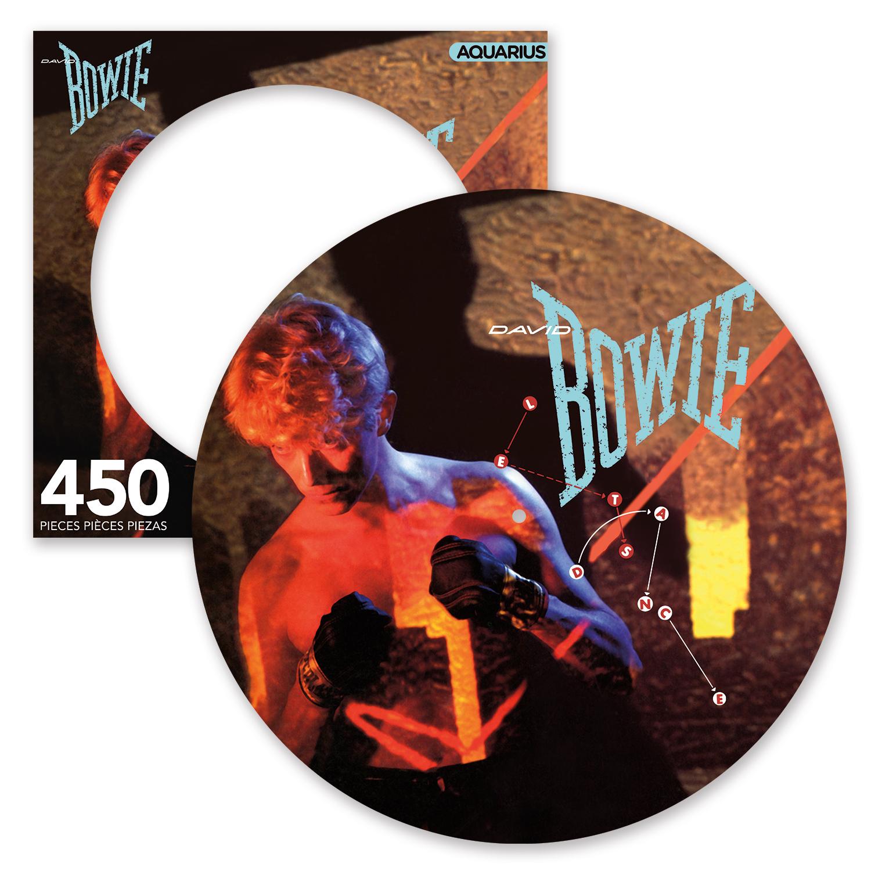 David Bowie Let's Dance 450 Piece Picture Disc Puzzle